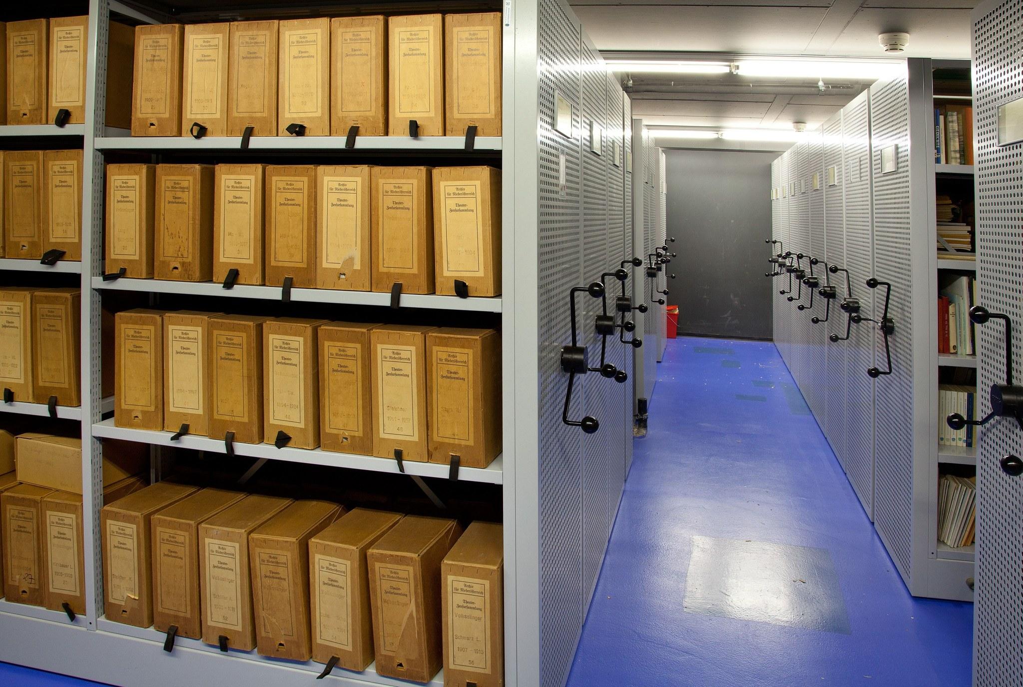 Archiv © Amt der NÖ Landesregierung, Abteilung NÖ Landesarchiv und NÖ Landesbibliothek